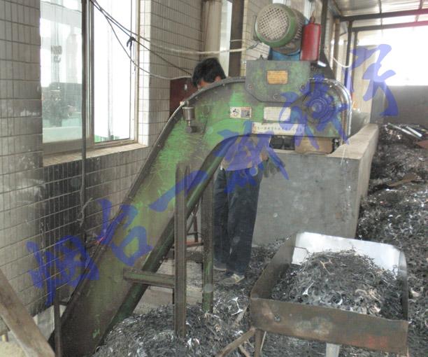 高速冲床废料排屑输送线