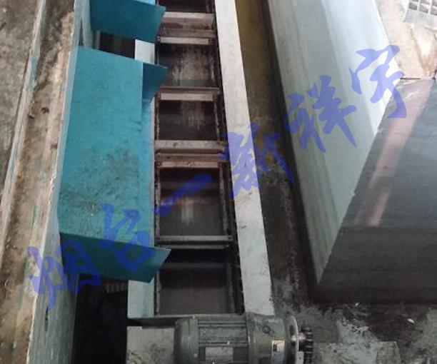 苏州某公司大型锯床切屑输送