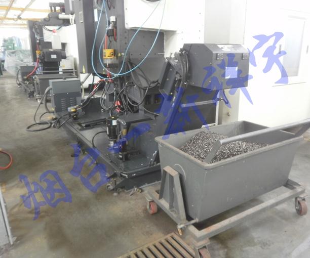 铸铁屑反冲排屑过滤装置