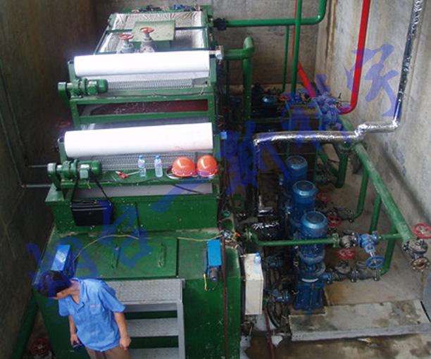 某钢铁厂冷轧集中过滤系统