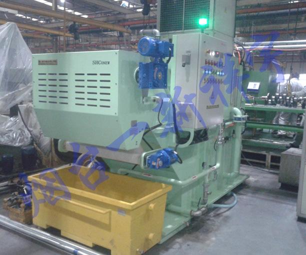 某汽车厂集中过滤负压纸带过滤机